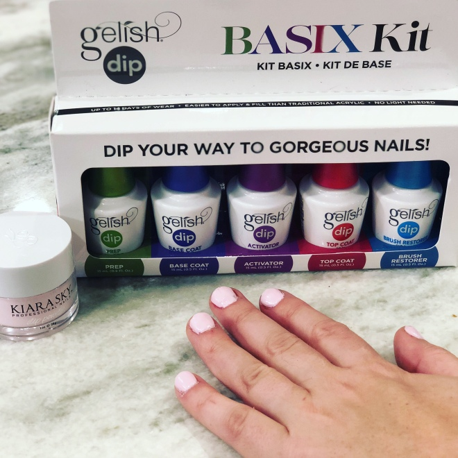 DIY gelish dip kit – Chewing Gum for the Mind
